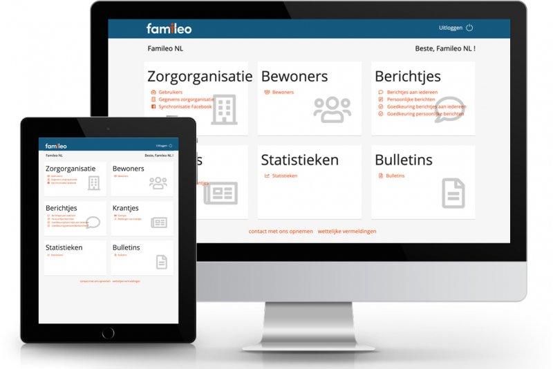 account organisatie pro famileo