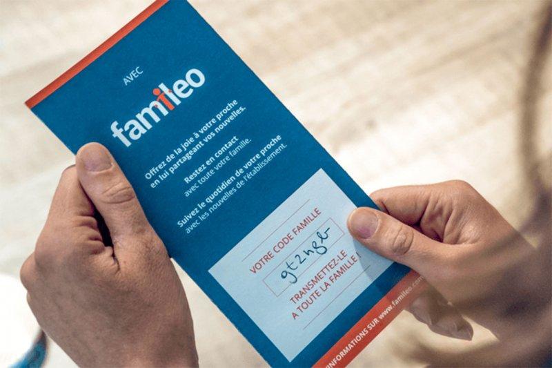 flyer famileo pour inscription famille
